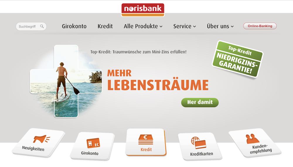 norisbank Produkte