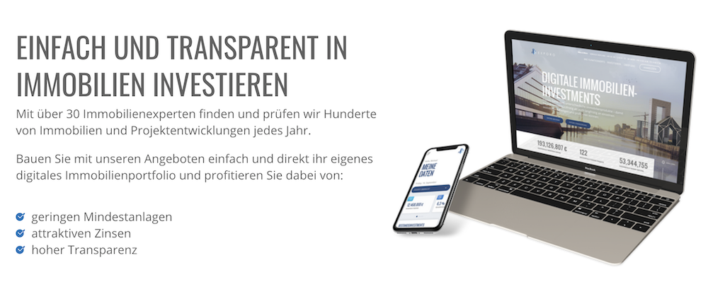Exporo Transparenz