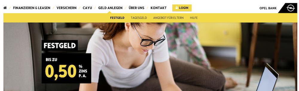 Opel Bank Festgeld Erfahrungen von Kredittestsieger.org