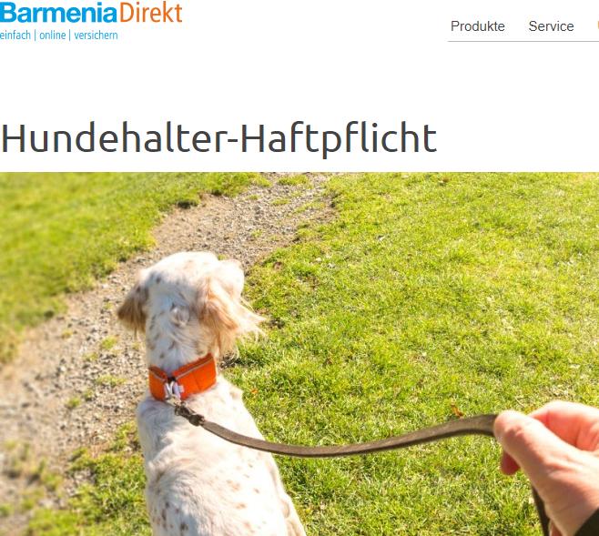 BarmeniaDirekt Hundehalter-Haftpflicht