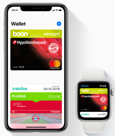 Apple Pay bezahlen