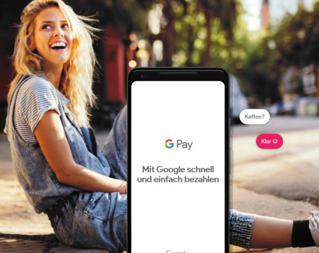 Google Pay bezahlen mit Android